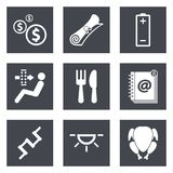 Icons for Web Design set 16 Stock Photos