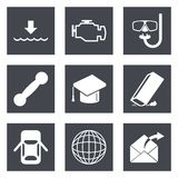 Icons for Web Design set 17 Stock Photos
