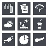 Icons for Web Design set 22. Icons for Web Design and Mobile Applications set 22. Vector illustration Stock Image