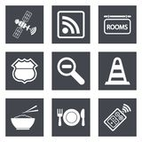 Icons for Web Design set 26 Stock Images