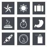 Icons for Web Design set 29 Royalty Free Stock Photo