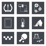 Icons for Web Design set 30. Icons for Web Design and Mobile Applications set 30. Vector illustration Royalty Free Stock Image