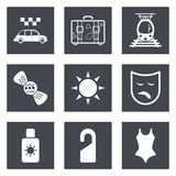 Icons for Web Design set 42 Royalty Free Stock Photography