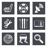 Icons for Web Design set 39 Stock Photography