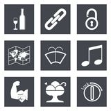 Icons for Web Design set 48 Stock Photos