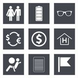 Icons for Web Design set 47. Icons for Web Design and Mobile Applications set 47. Vector illustration Stock Images