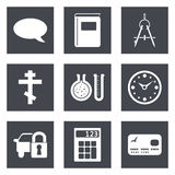 Icons for Web Design set 15. Icons for Web Design and Mobile Applications set 15. Vector illustration Stock Photography