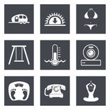 Icons for Web Design set 10 Stock Images
