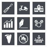 Icons for Web Design set 12. Icons for Web Design and Mobile Applications set 12. Vector illustration vector illustration