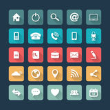 Icons For Web and Mobile Stock Photos
