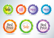 Icons for web and print stock photo