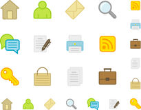 Icons Web Site Royalty Free Stock Photos