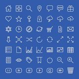 Icons for the web site. Royalty Free Stock Image