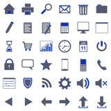 36 icons Royalty Free Stock Photos