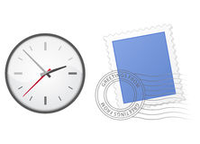 Icons on White Royalty Free Stock Photos