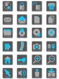 icons01互联网 库存照片