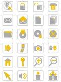 icons01 Διαδίκτυο Στοκ Φωτογραφία