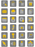 icons02 Διαδίκτυο Στοκ Εικόνες