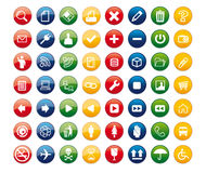 Icons02 Royalty Free Stock Photo