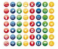 Icons02 Lizenzfreies Stockfoto