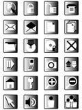icons03 Διαδίκτυο Στοκ Εικόνες