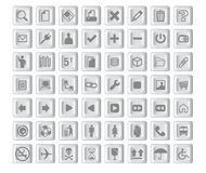Icons03 Stock Photography