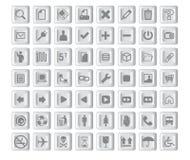 Icons03 ilustração do vetor