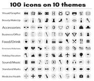 IconSet Foto de Stock