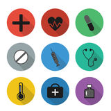 IconsMedicine Photo libre de droits