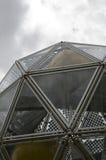 Icosahedron figure actually built Stock Image