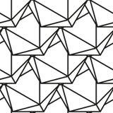 Icosahedron pattern vector3. Icosahedron pattern, platonic solids, monochrome geometrical pattern Stock Photography