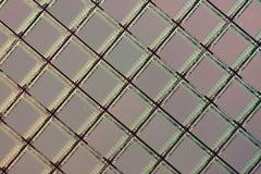 ICs van het silicium wafeltje stock foto