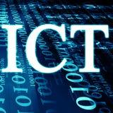ICT Στοκ εικόνα με δικαίωμα ελεύθερης χρήσης