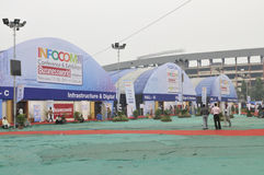 ICT  Fair in Kolkata. Royalty Free Stock Images