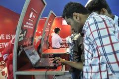 Ict giusto in Calcutta. Immagine Stock Libera da Diritti