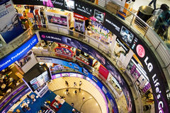 ICT Shopping Crowd Stock Photos