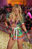 Ictoria's Secret Fashion Show model walks the runway during the 2010 Victoria's Secret Fashion Show Stock Photo