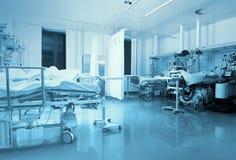 ICU avvärjer med patienter Arkivbild