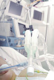 ICU patient Royalty Free Stock Photo