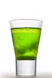 Icy Absinthe drink Stock Photography
