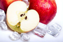 Icy Apples Royalty Free Stock Photo