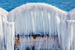 An Icy Arch Royalty Free Stock Images