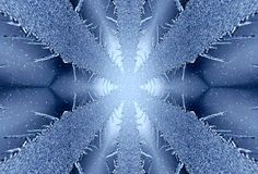 Icy background. For design artwork Stock Photos