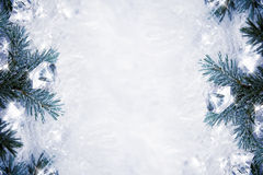 Icy background Stock Photography
