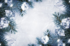 Icy background Stock Photos