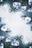 Icy background Royalty Free Stock Images