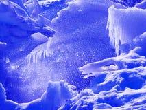 Icy blocks Royalty Free Stock Photos