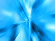 Icy blue background. Abstract of Blue Light Rays / Ice / Crystals Royalty Free Stock Photo