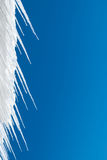 Icy Blue Background Stock Images