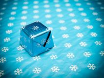 Icy candy cube Stock Photos